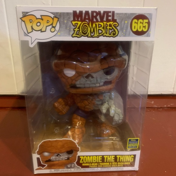 Zombie The Thing Funko Pop 10 inch